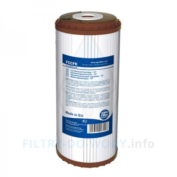 FCCFE-10BB - odstraňuje koncentráciu železa