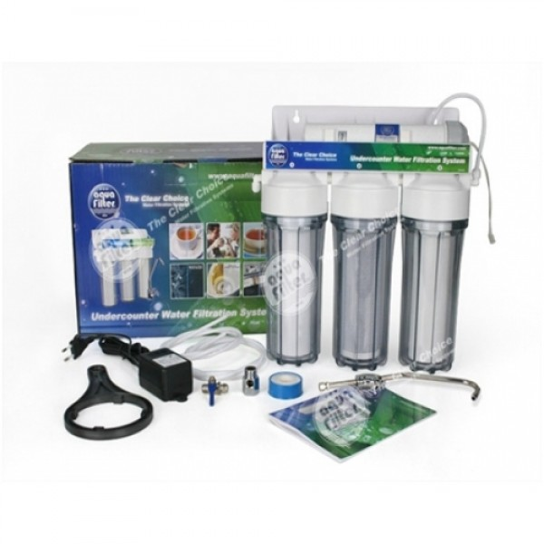 FP3-PLUS 4 - stupňový filtračný systém s UV l...