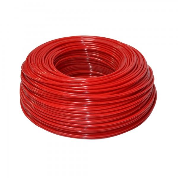 """KPTE14R - flexibilná hadica červená - 1/4 """"..."""