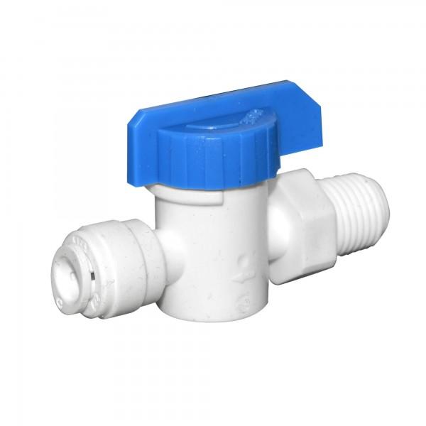 AQ-SEWBV1414-PP - plastový guľový ventil so zá...