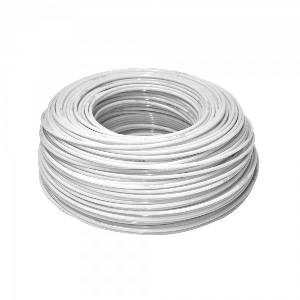 "KTPE12W - flexibilná hadica biela - 1/4 """