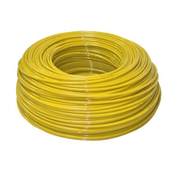 "KTPE14Y - flexibilná hadica žltá - 1/4 """