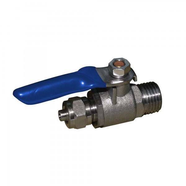 """SEWBV1414 - mosadzný guľový ventil 1/4 """""""